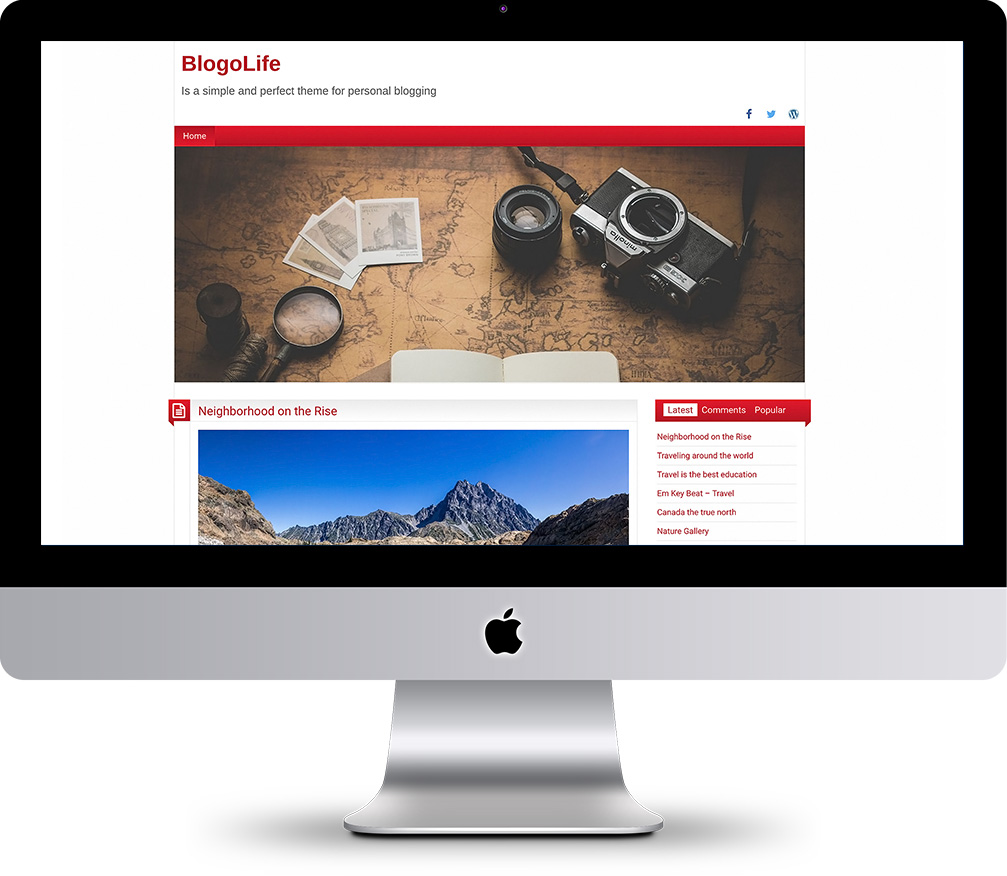BlogoLife - Perfect WordPress Theme for personal blogging and shops